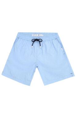 Swim With Mi Saint Tropez Swim Shorts Light Blue