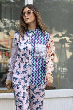 Me369 Camilla Shirt Tiger