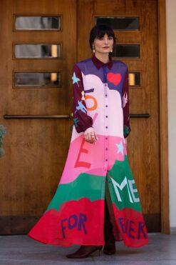 Me369 Francine Maxi Dress Love